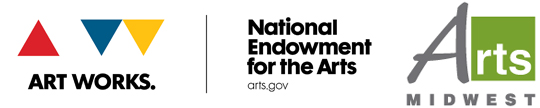 Arts Midwest and NEA logo