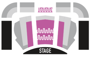Sheslow Auditorium Seating Chart