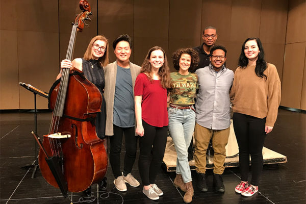 Cyrille Aimee Masterclass at Valley, February 2018