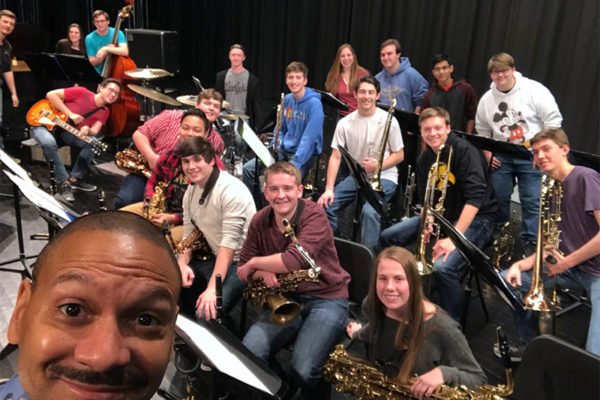 Delfeayo Marsalis Clinic at Waukee High School, March 2018