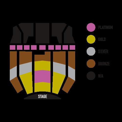 Hoyt Sherman seating chart