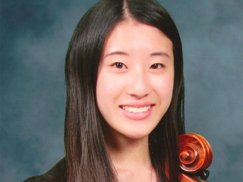 CMA Scholarship recipient Joanna Kim