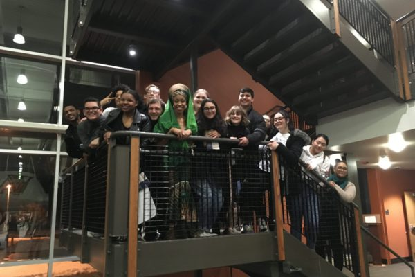 Jazzmeia Horn at Valley High School, January 2020